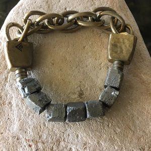 Silpada Pyrite Stretch Bracelet